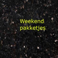 Weekend pakketjes